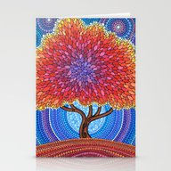 Autumn Blossoms Stationery Cards