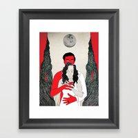 say yes Framed Art Print