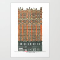 Don't Forget to Look Up: Potter Building Art Print
