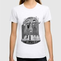 U-boat  Womens Fitted Tee Ash Grey SMALL