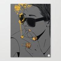 24K - No Worries Canvas Print