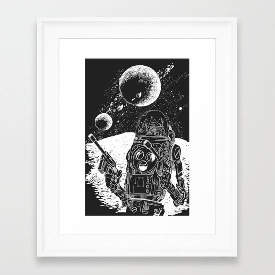 Duke of the Moon Framed Art Print