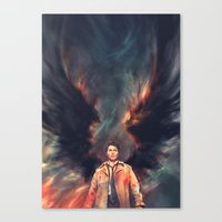The Angel of the Lord Canvas Print