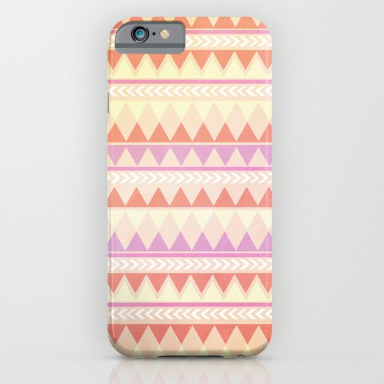 Summer Aztec Pattern iPhone & iPod Case