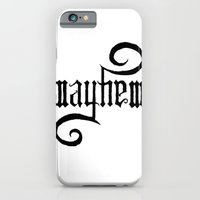 iPhone & iPod Case featuring Unleash MAYHEM by Daniel Viberg