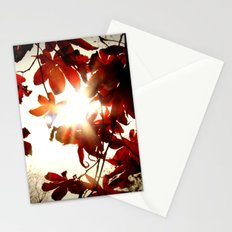 Autumn's Last Stand Stationery Cards