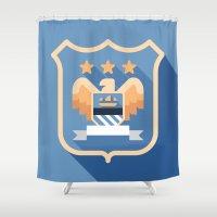 MCFC Shower Curtain