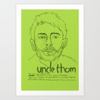 Uncle Thom Art Print
