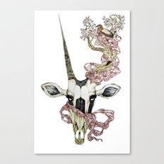 Oryx and Crake Canvas Print