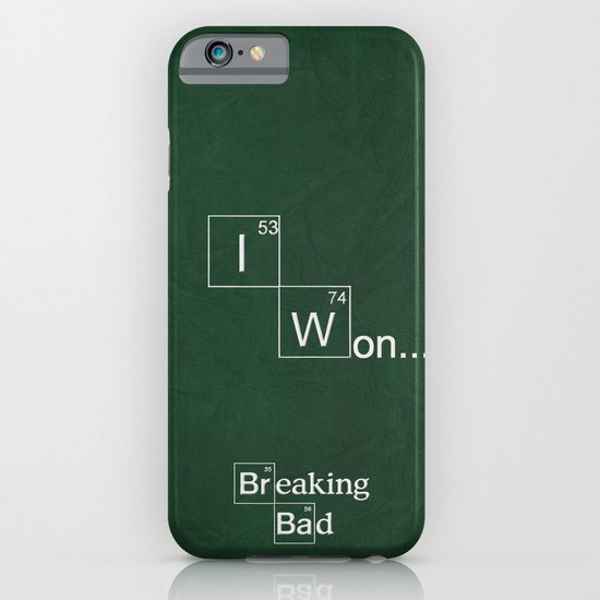 Breaking Bad Poster 04 iPhone & iPod Case