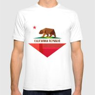 T-shirt featuring California by Fimbis