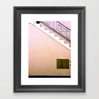 Silverlake Stairs Framed Art Print