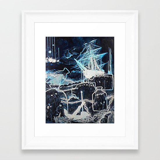 """Limbo of the Lost"" Framed Art Print"