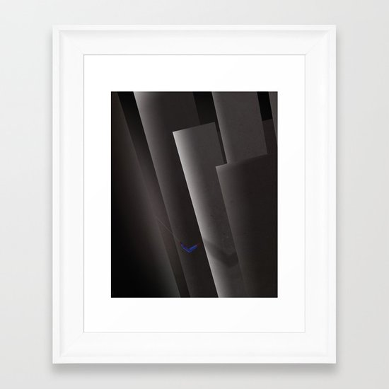 SMOOTH MINIMALISM - Spiderman Framed Art Print