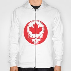 Canadian Steal Your Face (variation#4) Hoody