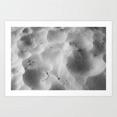 Every grain of sand beneath me Art Print