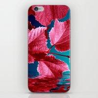 red wine IX iPhone & iPod Skin