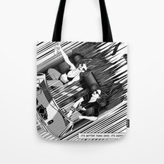 It's better than safe. It's death proof Tote Bag
