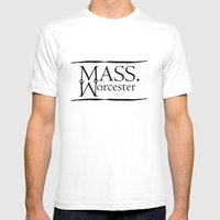 Worcester Mens Fitted Tee White SMALL
