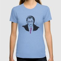 Steve BuscemiINK_Mr. Pink Womens Fitted Tee Athletic Blue SMALL