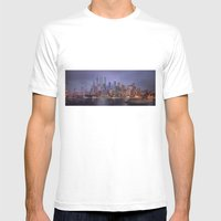 Desert City Mens Fitted Tee White SMALL