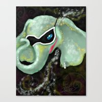 The Mardiphant Canvas Print