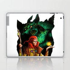 A wizard in the dark Laptop & iPad Skin