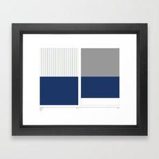 Home&Away Yankees Framed Art Print