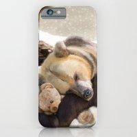 Sweet dreams, Mr Bear iPhone 6 Slim Case