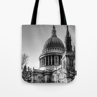 St Pauls, London Tote Bag