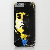 iPhone & iPod Case featuring bob dylan 06 by manish mansinh