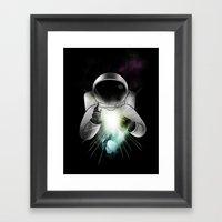 Being Of Light Framed Art Print