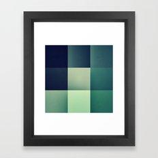 :: Geometric Maze XI :: Framed Art Print