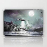 Whaling UFO Laptop & iPad Skin