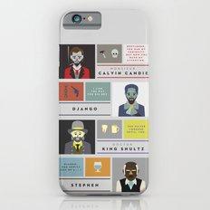 Django Unchained Character Poster Slim Case iPhone 6s