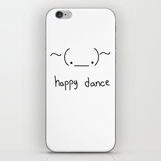Happy Dance iPhone & iPod Skin