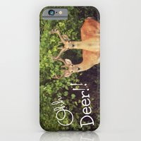 iPhone & iPod Case featuring Ohh Deer! by RDelean