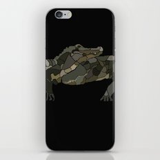 Mellifluous Crocodiles iPhone & iPod Skin