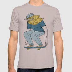 Skate Beard Mens Fitted Tee Cinder SMALL