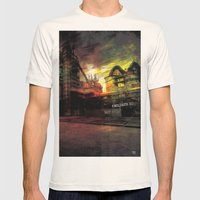 children do not stop Mens Fitted Tee Natural SMALL