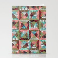 Collage Mix Paper Stationery Cards