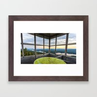 In The Fire Tower Framed Art Print