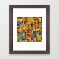 Pieces Parts Framed Art Print