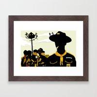 Moonrise Kingdom 2 Framed Art Print
