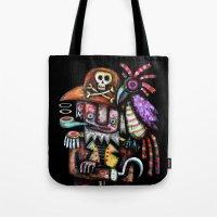 Old Pirate Tote Bag