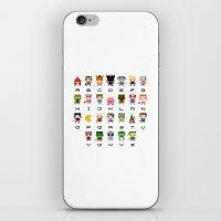 Video Games Pixel Alphab… iPhone & iPod Skin