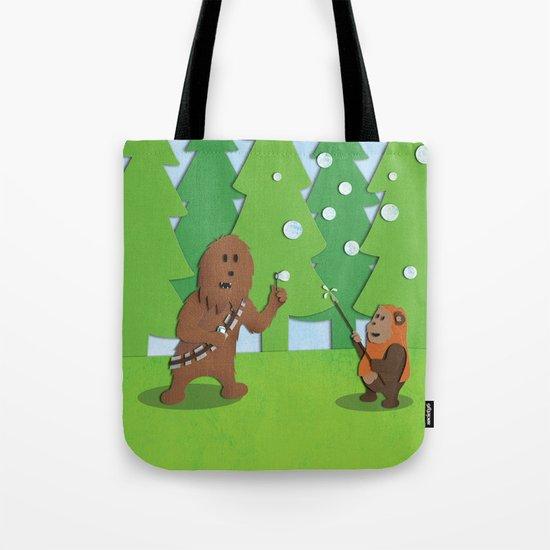 SW Kids - Chewie Bubbles Tote Bag