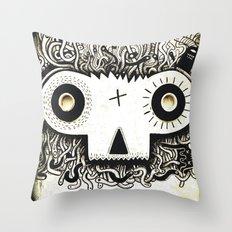 Wormface 2 Throw Pillow