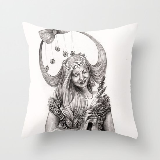 V I R G O Throw Pillow