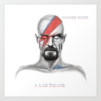 Walter White - A Lab Ins… Art Print
